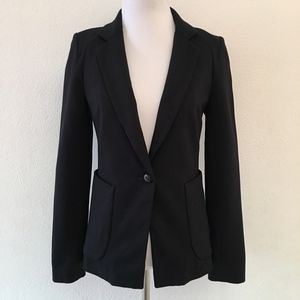 Anthropologie Cartonnier Black Blazer Size 0